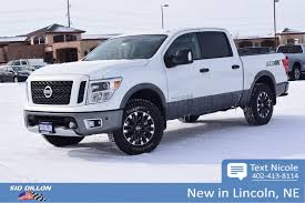 New 2018 Nissan Titan PRO-4X Crew Cab In Lincoln #4N18196 | Sid ...