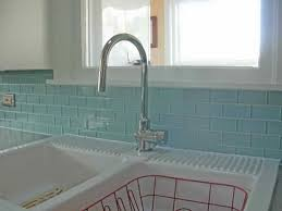 Light Blue Ceramic Subway Tile by Subway Tile Backsplash Subway Tiles Grout And Blue Green