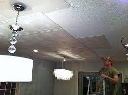 tin look ceiling tiles painting faux robinson house decor 9