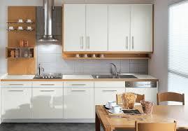 cuisine blanche plan travail bois cuisine blanche plan de travail gris inspirant image cuisine