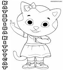 Picture Daniel Tiger Coloring Pages 41 With Additional Line Drawings