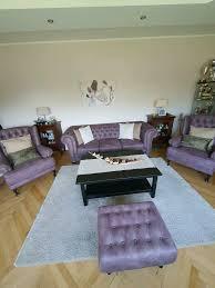 wohnzimmer komplett sessel tisch teppich