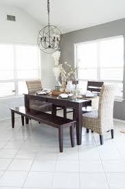 Coastal Farmhouse Table Setting