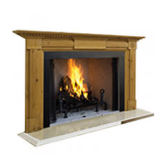 Adorable Wood Fireplace Surrounds For Burners Houzz Mantel Yorkshire