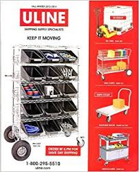 ULINE CATALOG FALL WINTER 2013 2014 SHIPPING SUPPLIES COMPREHENSIVE Amazon Books