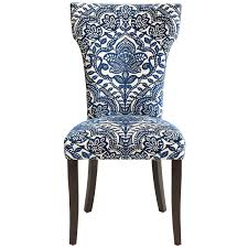 Pier One Papasan Chair Weight Limit by Carmilla Blue Damask Dining Chair Pier 1 Imports