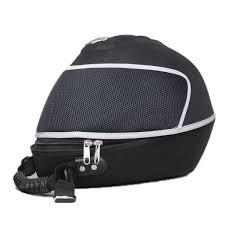 sac de casque moto pe portable rigide respirable noir