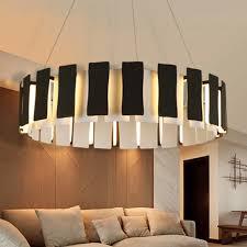 kreative klavier förmige led pendelleuchte minimalismus dimmbare pendelleuchte esszimmer hängele runde auszusetzen le laras