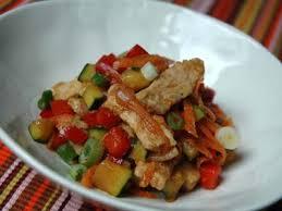 cuisiner un sauté de porc c est moi qui l ai fait porc sauté aux légumes à la chinoise ou
