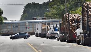 CSX Trains Block Baldwin Roads For Hours - Baffling Residents ...