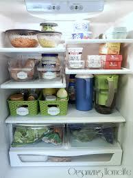 ranger réfrigérateur bee organisée