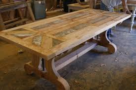 Making Trestle Table Legs Furniture Modern Long Dining You See Part Top Of
