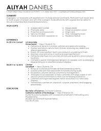 Sample Resume Format For Part Time Jobs Job Student Template Infinite Inspirational
