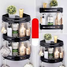 bad regale küche ecke regal wand montiert aluminium seife geschirr bad dusche regal bad shoo halter wand montiert typ