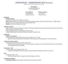 Resume Samples With No Work Experience Blank Template For High School Students Ojt Sample