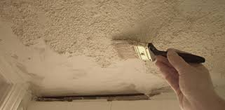 Patching Popcorn Ceiling Paint by Patch A Popcorn Ceiling Extreme How To