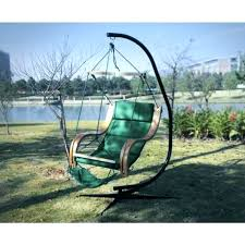 Sky Chair Stand Free Standing Hammock Green