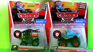Monster Truck Mater Cars Toons Toys Tormentor & Frightning McMean ...