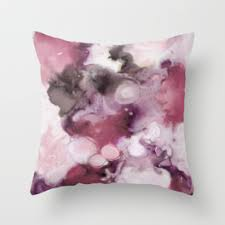 plum throw pillows