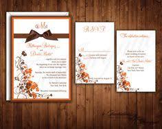 Fall Wedding Invitations Rustic Invitation By Catharynne