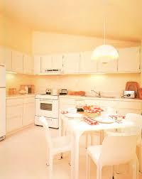 White Modern 80s Kitchen