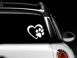 Amazon.com: Decalgeek HEART With DOG PAW Puppy Love Vinyl Decal ... Business Signs Vehicle Wraps Car Boat Marine Vinyl Installers Rc Truck Racing Police 911 Chevy Caprice Car Decals I Love Sushi Funny Window Windshield From Amazon My Hugo Estrada Google Zombies Decalzombie Decal Stickers Fender Stripes Graphics Race Cars Boats 2 Flames 8 Custom Auto Stick 3d Frog Car Stickers Sticker Great Deals On Truckers Wife And Amazoncom Decalgeek Heart With Dog Paw Puppy Catherine M Johnson Homes How To Make Food Truck Sticker Lorry Wrapping