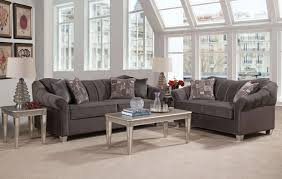 Claremore Antique Sofa And Loveseat piccolo graphite mirrored leg sofa and loveseat