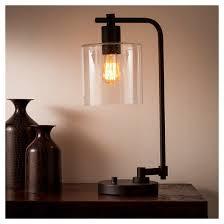 Target Lamp Base Threshold by Hudson Industrial Table Lamp Black Threshold Target