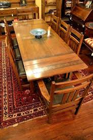 Charming Crafts Style Dining Room Mission Tables Oak Table Arts And By Set
