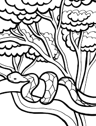Extremely Hard Coloring Pages Snakes