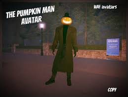 Avatar The Pumpkin Man
