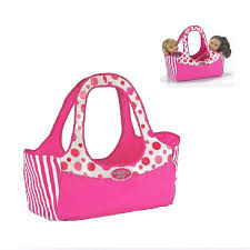 Madame Alexander Babys Carry Tote Doll Bag Fits Two 18