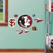 Fathead Princess Wall Decor by Ncaa Florida State Fathead Jr Fsu College Wall Stickers Set