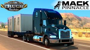 American Truck Simulator MACK PINNACLE - YouTube Nuss Truck Equipment Tools That Make Your Business Work Mack Trucks Donates Anthem To Ata For Veteran Recruitment Amazoncom Bruder Granite Ups Logistics With Forklift Roll Off Green Guy Recycling Showcases Its Support Breast Cancer Awareness Lego Technic 2in1 Hicsumption Safety First Identity Case Study Vsa Partners 2008 Used Le 600 Hiel 25 Yard Packer Garbage Truck Rear Load The Only Rideon Hammacher Schlemmer