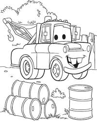 Disney Pixar Cars Coloring Pages In
