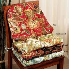 Valbella Jacobean Floral Indoor Outdoor Chair Cushions