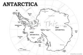Antarctica Map Labelled
