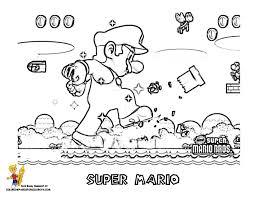 Amazing Coloring Pages Mario Bros