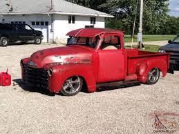 1953 Chevrolet 3100 5 Window Truck Pickup 1947 Chevrolet 3100 Pickup Truck Ute Lowrider Bomb Cruiser Rat Rod Ebay Find A Clean Kustom Red 52 Chevy Series 1955 Big Vintage Searcy Ar 1950 Chevrolet 5 Window Pickup Rahotrod Nr Classic Gmc Trucks Of The 40s 1953 For Sale 611 Mcg V8 Patina Faux Custom In Qld Pictures Of Old Chevy Trucks Com For Sale
