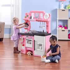 Wayfair Play Kitchen Sets by American Plastic Toys Baker U0027s Kitchen Ft Light Up Burner With