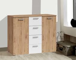 kommode 132cm eiche beaufort weiß sideboard modern schrank schlafzimmer
