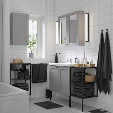 enhet tvällen badezimmer set 14 tlg grau rahmen