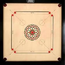 Image Is Loading Surco Vintage Carrom Board With Coins And Striker