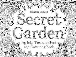 Secret Garden Once I Got Out Of The Hospital Began Searching Online For Information On Adult Coloring To My Astonishment This Has Apparently Become