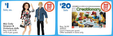 Toysrus Red One Day Only by Toys R Us One Day Sale U003d Cody Simpson U0026 Victorious Dolls 1
