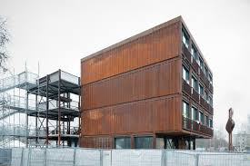 100 Container Building A Village For Students In Berlin Uncube
