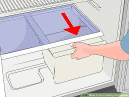 Samsung Refrigerator Leaking Water On Floor by 4 Ways To Fix A Leaking Refrigerator Wikihow