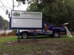 Greenhouse-Church - Cardinal Signs