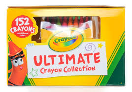 Crayola Bathtub Crayons Collection by Crayola 152 Count Ultimate Crayon Collection What U0027s Inside The
