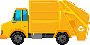 Garbage Truck Rubbish Bins & Waste Paper Baskets Clip Art - Truck ...